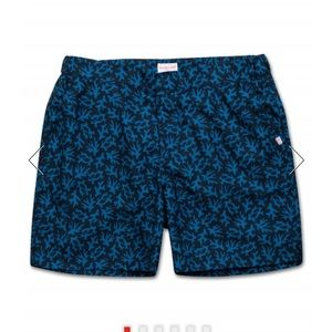 Derek Rose London Modern Fit Swim Trunks, size L